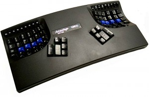 Kinesis Advantage black keyboard